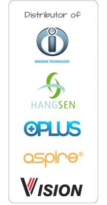 Distributor of genuine Innokin, Hangsen and O-Plus products.