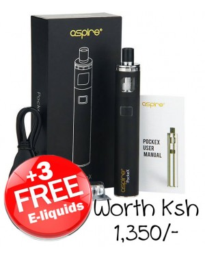 Aspire PockeX AIO Vape Kit