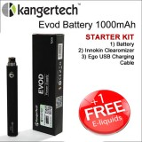 Kangertech Starter Kit - 1000mAh Evod Battery