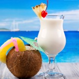 Pina Colada E-Liquid Vape Juice 10ml by Oplus