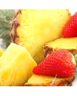 Pineapple Strawberry 3mg VG E-Liquid 30ml by Oplus