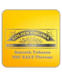 Golden Virgina Nic Salts Vape Juice 10ml by Oplus